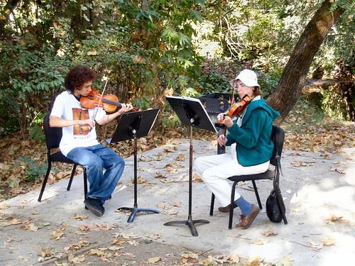 Mozart Mile Violinists
