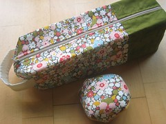 Clementine's Shoes bag & pincushion