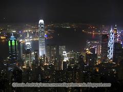Hong Kong a noite