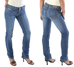 bad high heel jeans