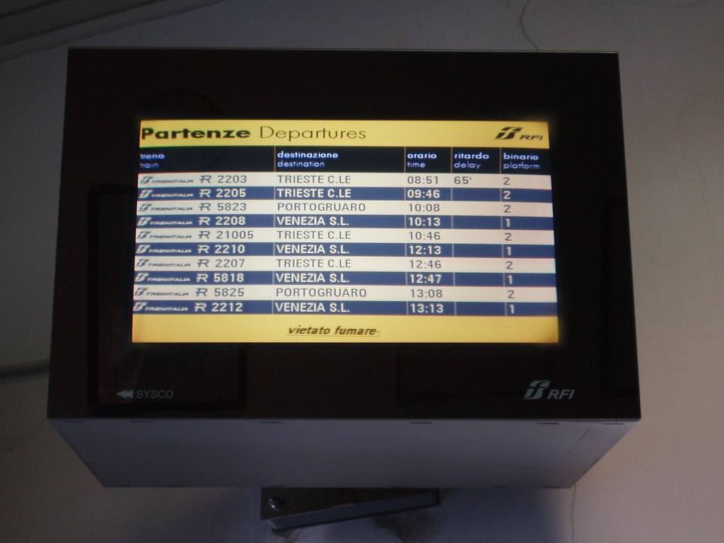 Trenitalia infamous for its frequent delays