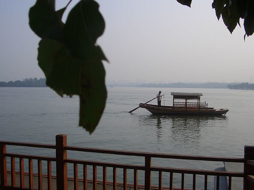 Beautiful West Lake in Hanzhou