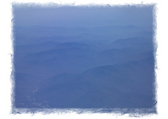 mtns. from plane