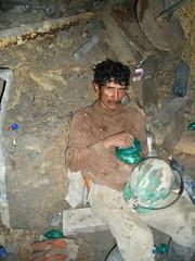 Mine Tour - 13 - Miner Mario Quenca
