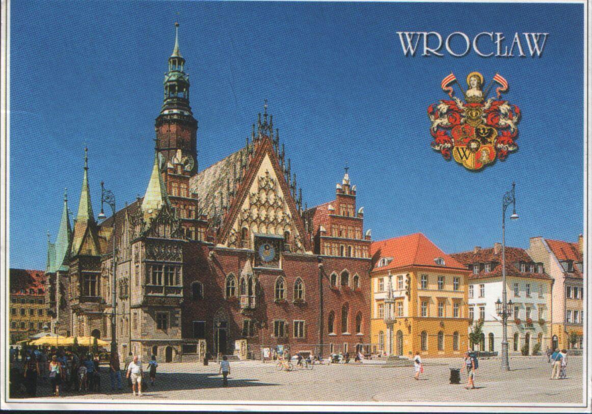 Wroclaw PostCrossing postcard