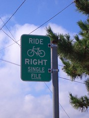 Ride right, dammit!