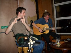 Some Irish Pub Crawl Musicians