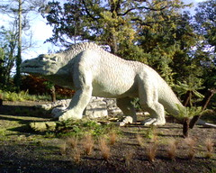 Dinosaur at Crystal Palace