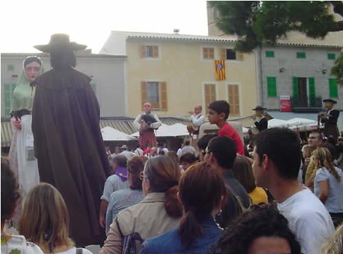 baile de los gigantes de Mahón (Menorca)