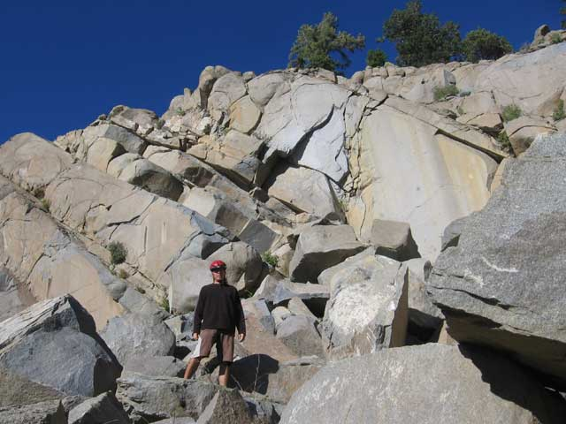 me and some rocks