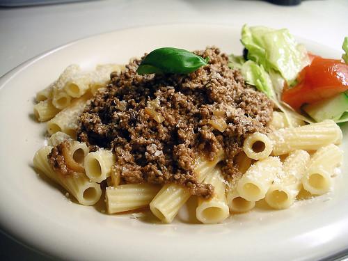 lätt middag pasta