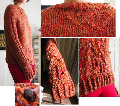 Lace Leaf Pullover 3