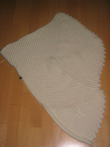 Curlicue blanket, section 5