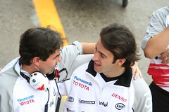 Zonta, TOYOTA's 3rd driver (right)