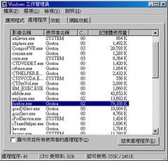 Firefox 1.5 Beta 2 Memory 02