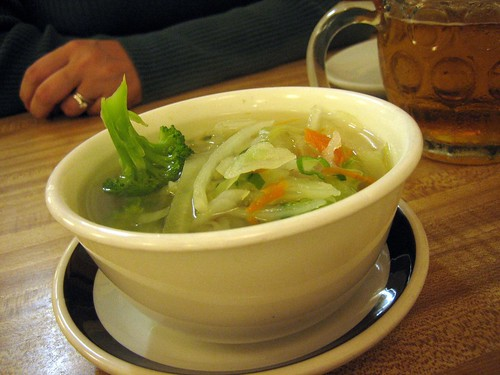 Vegetable soup -Gook
