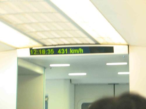 431 km:h