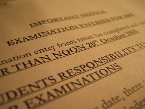 Exam form 1