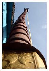 Dwajasthamba at Kadiyali Temple - Udupi