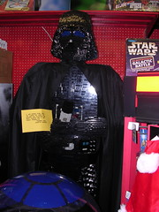 Darth Vader out of Legos