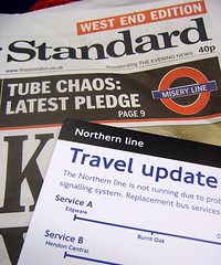 Evening Standard Northern Line Chaos