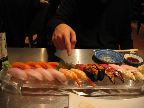 sushi @ oga's