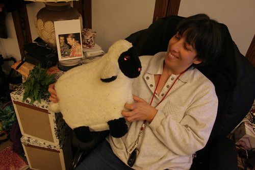 Ramblin in NY: Maria had a little lamb, little lamb, Maria...