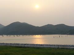 欣澳(Sunny Bay)的黃昏
