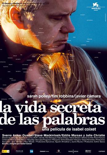 la vida secreta de las palabras (cartel)