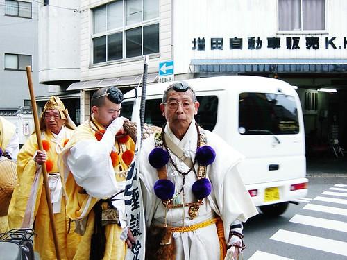 Street monks