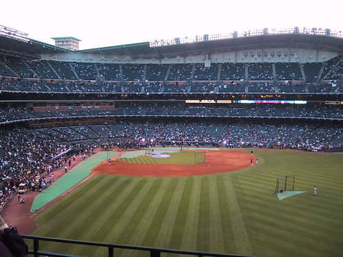 Minute Maid Park, pre-Game 4