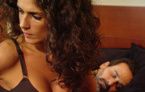 Vanessa Saba y Paúl Vega