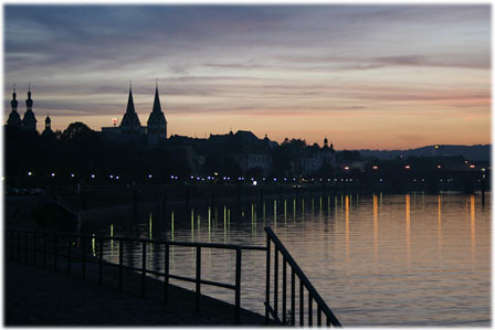 Koblenz at Night