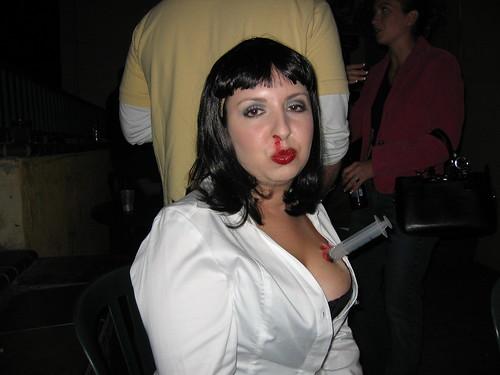 Heather as Mia Wallace... post-O.D.