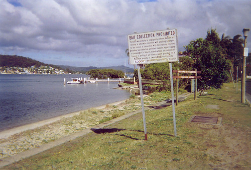 Bait Collection Prohibited