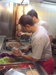 Making Doner Kebabs