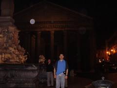 Frente al Panteon