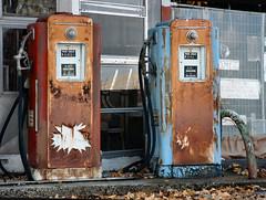 Antique Gasoline Pumps