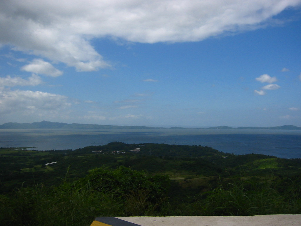 Laguna Lake from Sierra Madre