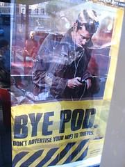 Bye Pod ad