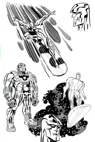 Silver Surfer (Bruce Timm - sketch)