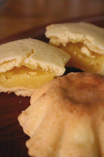Tarteletas al lemon curd