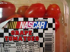 NASCAR grape tomatoes?