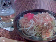 Asahi Tarunama Biru and Daikon Sarada