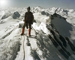 Dom 4545 m - the coldest summit of Switzerland photo by claude05