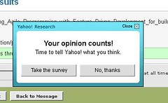 Yahoo! Mail Survey