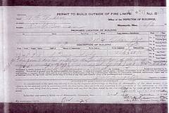 Original building permit