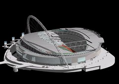 New Wembley Stadium, London