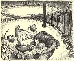 story parade santa train