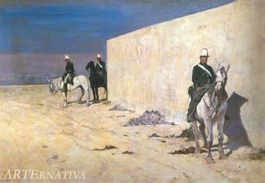 Giovanni Fattori - Nascondino a Cavallo